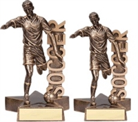 Billboard<BR> Male Soccer Trophy<BR> 6.5 & 8.5 Inches