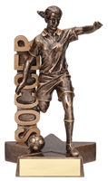 Billboard<BR> Female Soccer Trophy<BR> 6.5 & 8.5 Inches