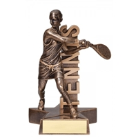 Billboard<BR> Female Tennis Trophy<BR> 6.5 & 8.5 Inches
