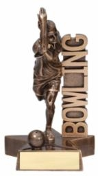 Billboard<BR> Female Bowling Trophy<BR> 6.5 & 8.5 Inches