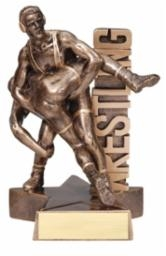 Billboard<BR> Wrestling Trophy<BR> 6.5 & 8.5 Inches