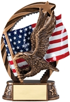 Running Star<BR> XXL Eagle Trophy<BR> 8.5 Inches
