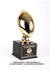 Gold Elite<BR> Small Football Trophy <BR> 9 Inches