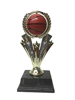 Spinner<BR> Basketball Trophy<BR> 7 inches