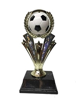 Soccer Spin Trophy<BR> 7 Inches