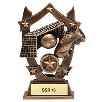 Sport Star<BR> Soccer Trophy<BR> 6.25 Inches