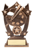 Sport Star<BR> Art Trophy<BR> 6.25 Inches