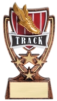 4 Star<BR> Track Trophy<BR> 6 Inches