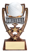 4 Star<BR> Volleyball Trophy<BR> 6 Inches