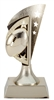Gold Star<BR> Football Trophy<BR> 6 Inches