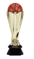 World Cup<BR> Basketball Trophy<BR> 7.5 and 9 Inches