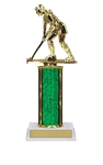 Single Column<BR> Field Hockey Trophy<BR> 10-12 Inches<BR> 10 Colors
