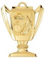 Trophy Track Medal<BR> Gold/Silver/Bronze<BR> 2.75 Inches