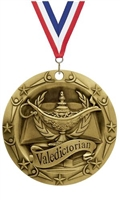 World Class XXL<BR> Valedictorian Medal<BR> Gold/Silver/Bronze<BR> 3 Inches