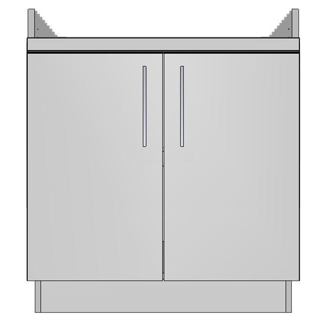 Apron Cooktop 2 Door (EU)