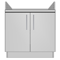 Apron Cooktop 2 Door (NA)