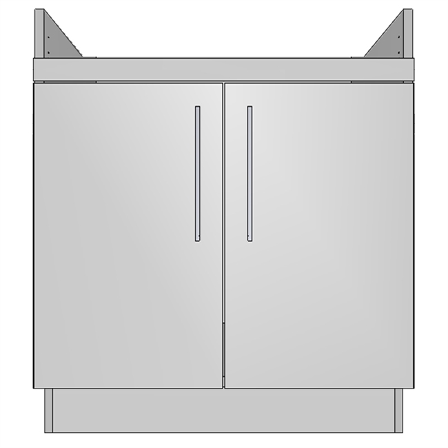 Apron Sink Base 2 Door (NA)