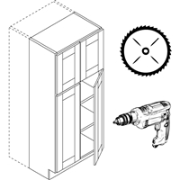 Cabinet Modification Service
