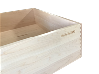 Custom Wooden Drawer Box