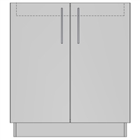 Cooktop 2 Door