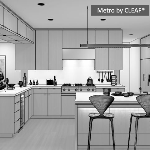 Metro By CLEAF® Custom Design