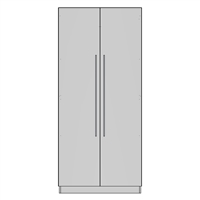 Pantry Double 2 Door