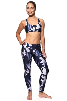 XIQUE XIQUE FULL LENGTH LEGGING ARTISTIC DESIGN