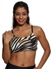 PRAIA BRA PRINTS - Tiger - Medium