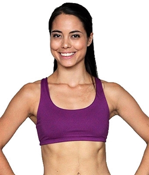 LIBERDADE BRA BASICS - Lightweight Grape - X-Small