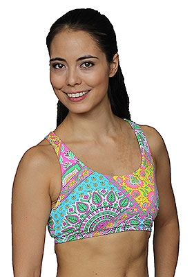 LIBERDADE BRA PRINTS - Mandala - Medium