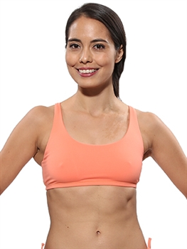 LIBERDADE BRA SOLIDS - Lightweight Peach - Small