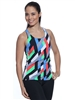 LIBERDADE TANK PRINTS - Ribbons - Medium