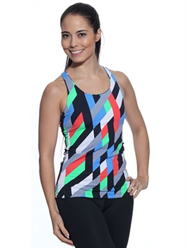 LIBERDADE TANK PRINTS - Ribbons - Small