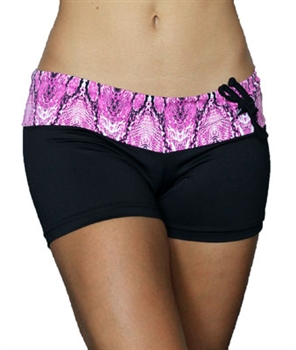 PORTO SHORT PRINTS - Pink Serpent - Medium