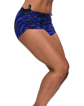 VITORIA SHORT PRINTS - Midnight Blue - Large
