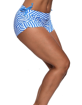 VITORIA SHORT PRINTS - Mykonos - X-Small
