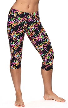 XIQUE XIQUE CAPRI PRINTS - Neon Palm - Small