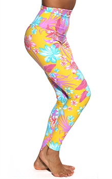 ITAPARICA HIGH-LOW LEGGING PRINTS - Mandala - Small