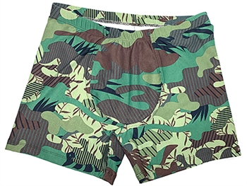 GALINHA SHORT PRINTS - Fatigues - Large