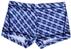 SAFADO SHORT PRINTS - Blue Crochet - X-Small