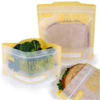 Yellow Russbe Sandwich and Snack Bags
