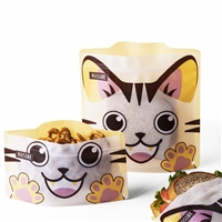 Cat Linen Russbe Sandwich and Snack Bags