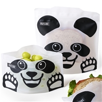 Panda Linen Russbe Sandwich and Snack Bags