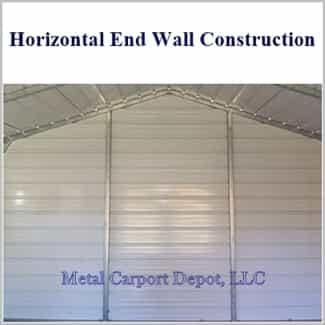 20 X 31 Metal Garage Enclosed Steel Building Metal Carport Depot