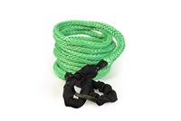 7/8 inch x 30 foot Green Recovery Rope w/Bag by VooDoo Offroad