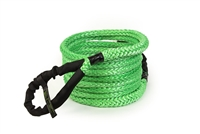 3/4 inch x 30 foot Green Recovery Rope w/Bag by VooDoo Offroad