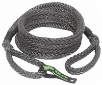 7/8 inch x 20 foot Black Recovery Rope w/Bag by VooDoo Offroad