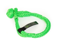 "1/2 inch x 8"" Green Soft Shackles by VooDoo Offroad"