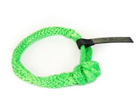 "3/8 inch x 7"" Green Soft Shackles by VooDoo Offroad"