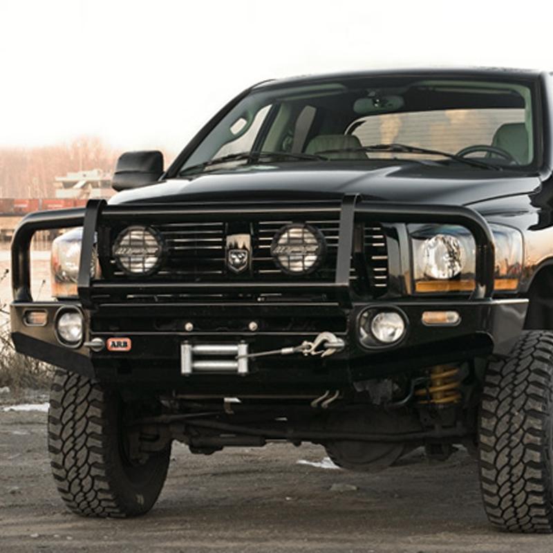Dodge Ram Bull Bar >> Arb Deluxe Bull Bar Winch Bumper Dodge Ram 1500 2500 3500